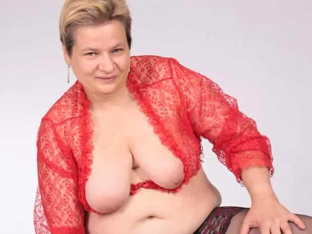 Mollige Alte vor deutsche Sexcams