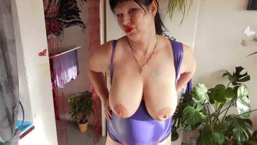 Geile alte Hängetitten vor der Gratis Sexcam